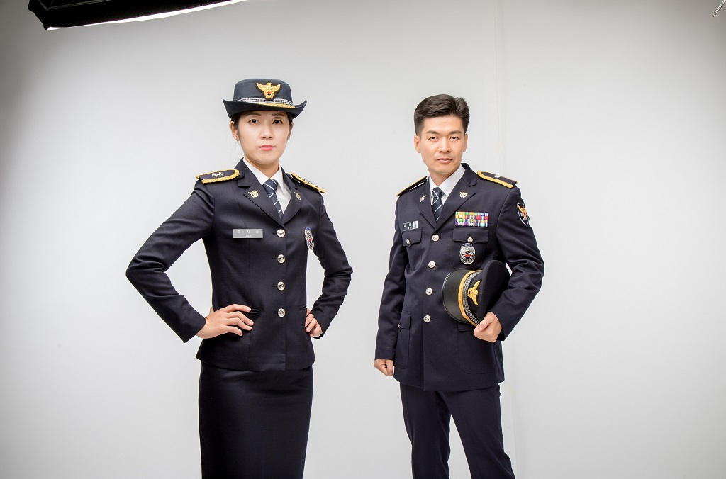 Korean police dress uniform
