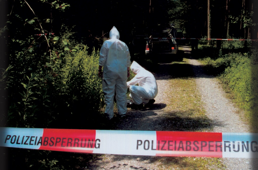 INTERPOL crime scene