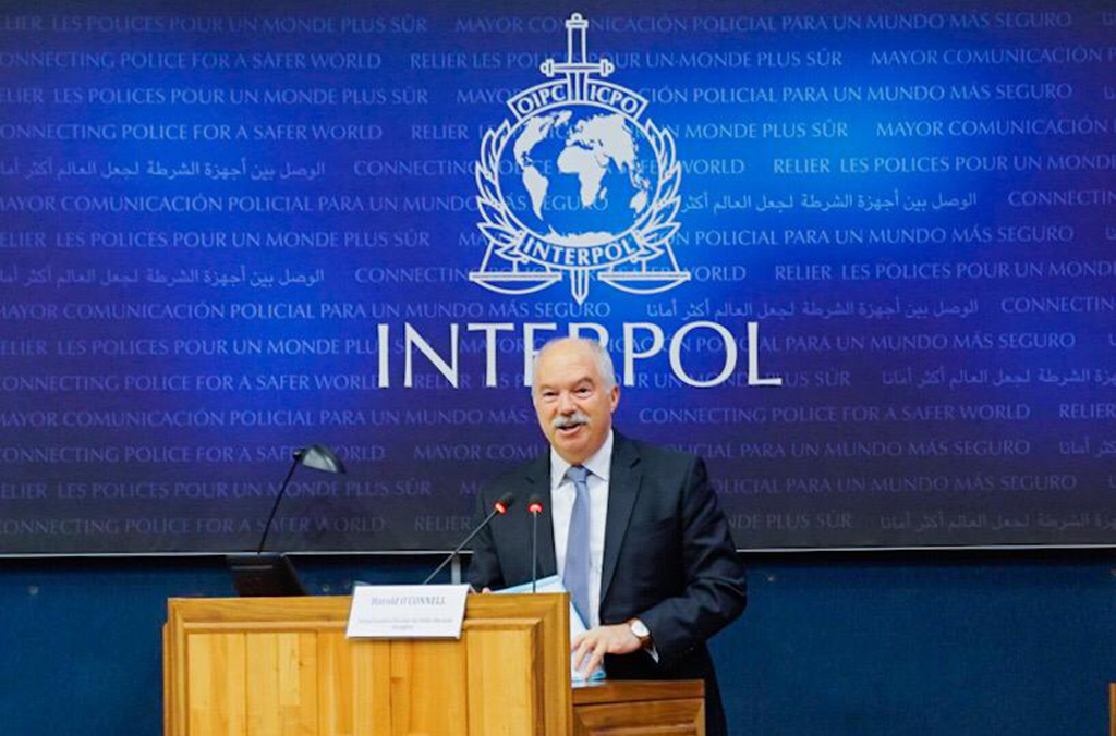Harold O'Connell, Acting INTERPOL Executive Director of Police Services