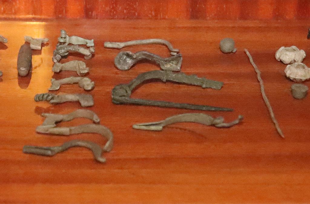 Objects seized in the Czech Republic.