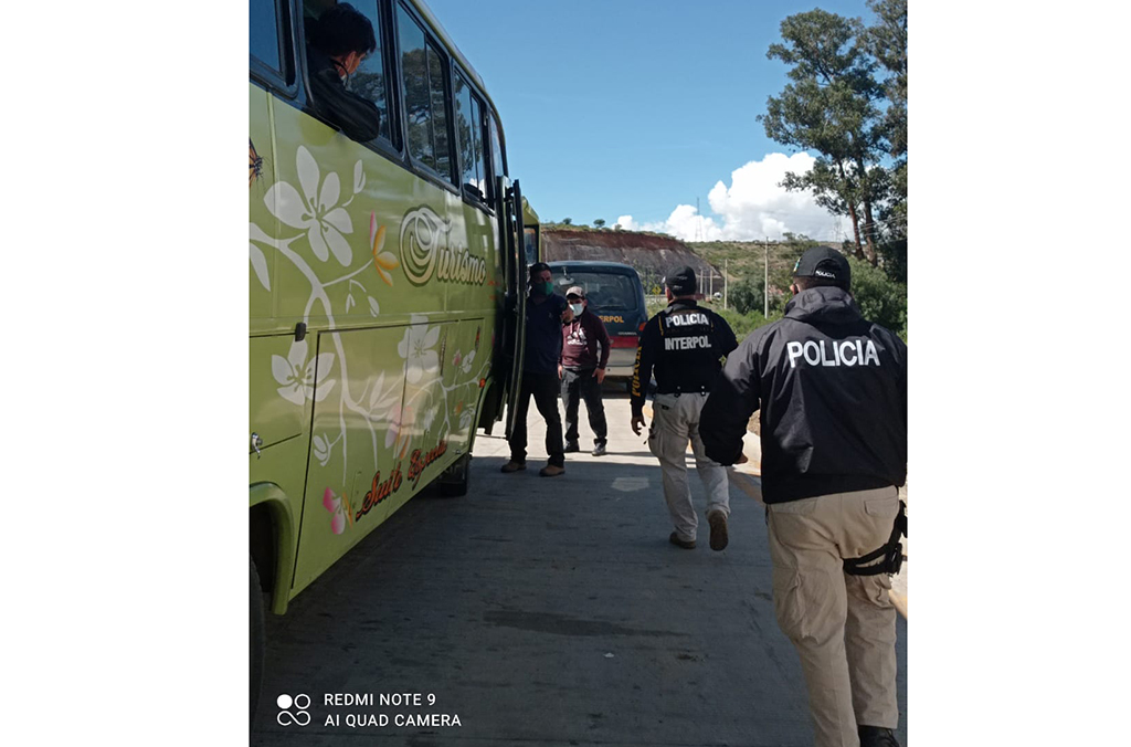 Operation Trigger VI results also included the rescue of 33 suspected human trafficking victims detected during a firearms raid at La Paz bus terminal