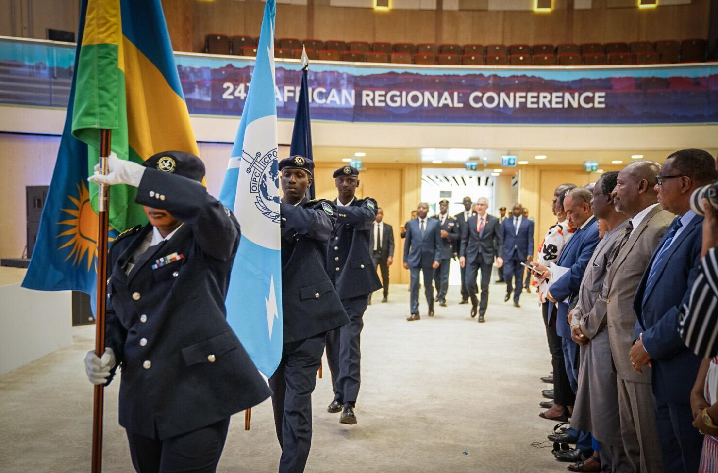 The Rwanda National Police are hosting the INTERPOL African Regional Conference in Kigali.