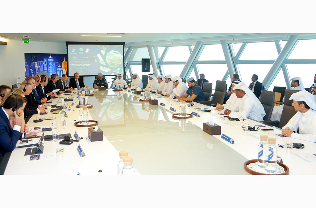 INTERPOL's Project Stadia held two meetings in Qatar addressing security threats to major sporting events.