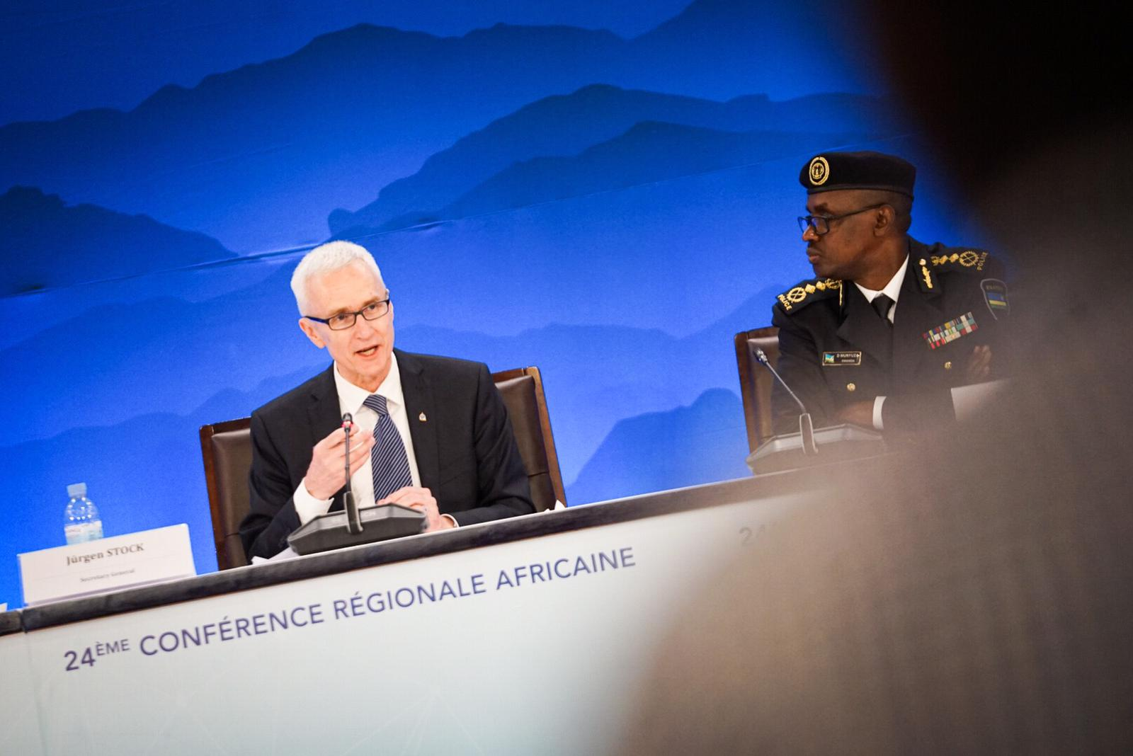 Secretary General Jürgen Stock said the conference will help strengthen regional and international police cooperation to better serve Africa's security needs.