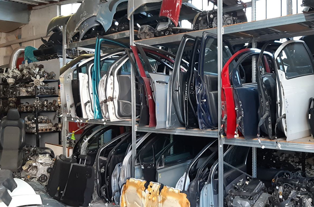 More than 1,000 stolen vehicle parts were recovered during the two-week operation.