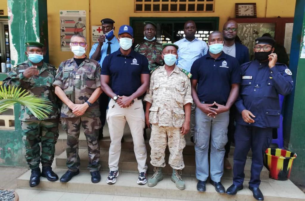 Training on the use of WAPIS, Conakry, Guinea, January 2021