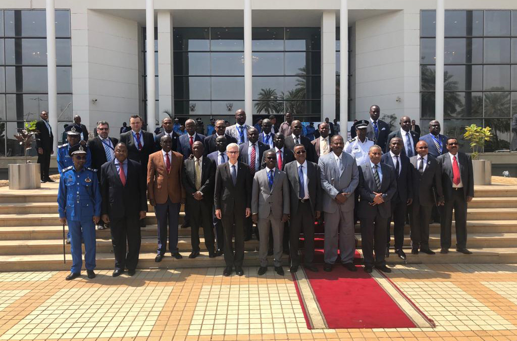 Ministers from across Eastern Africa and INTERPOL Secretary General Jürgen Stock are attending the 20th EAPCCO General Assembly in Sudan.