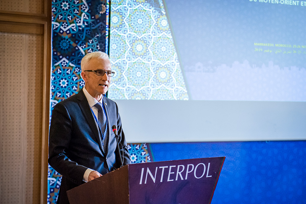 Secretary General Jürgen Stock said INTERPOL's activities in support of Middle East and North Africa strengthened our collective understanding of the threat landscape.