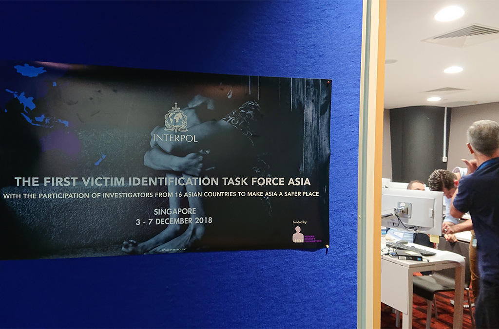 INTERPOL victim identification task force