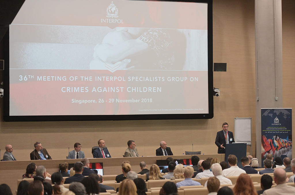 International child protection experts gathered in Singapore to identify measures to encourage and support law enforcement worldwide in identifying victims of child sexual abuse.