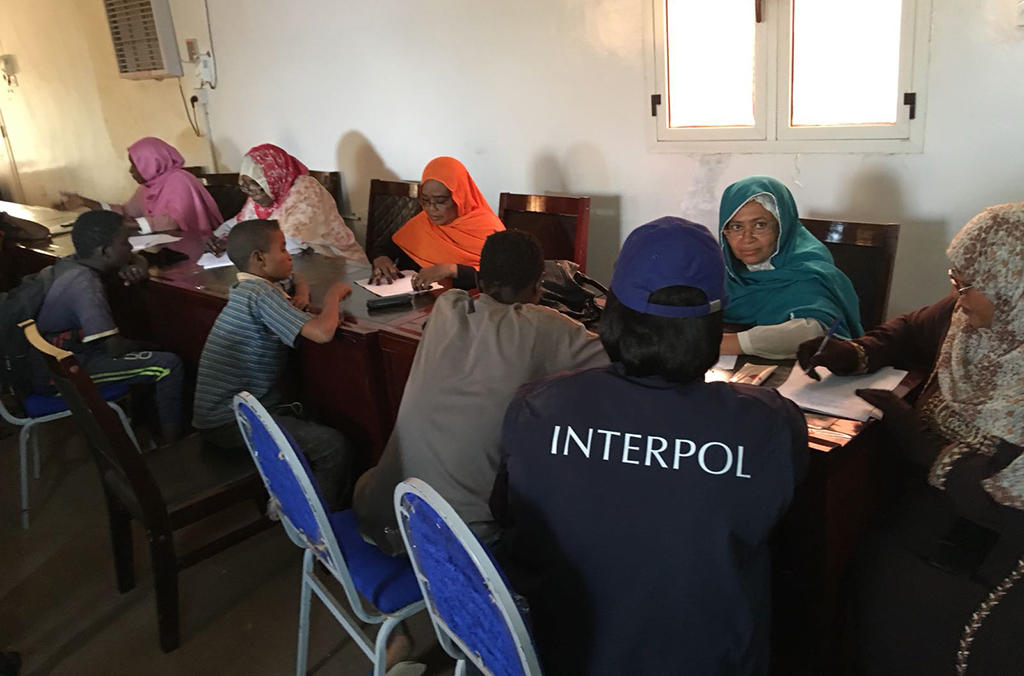 INTERPOL's National Central Bureau in Khartoum worked with national agencies including Sudan's Child Protection Unit so as to facilitate the provision of immediate assistance and protection to victims rescued during the operation.