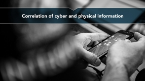 Correlation of cyber and physical information