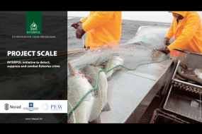 Project SCALE - detect, suppress and combat fisheries crime