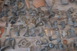 Artefacts seized in Romania during Pandora V.