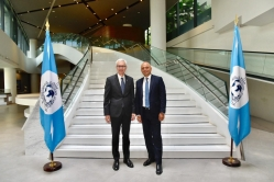 UK Home Secretary Sajid Javid visited the INTERPOL Global Complex for Innovation in Singapore to enhance collaboration against crime.