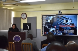 The training aimed to strengthen the Caribbean's ability to tackle gun crime and boost global information sharing on firearms crime.
