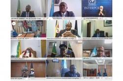 Le Secrétaire Général d'INTERPOL, M. Jürgen Stock, a pris la parole lors de l'Assemblée générale annuelle de l'Organisation de coopération des chefs de police d'Afrique de l'Est.