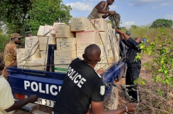 Law enforcement officers intercepted illicit firearms, ammunition and explosives, disrupting the trafficking networks used to supply terrorists across West Africa and the Sahel (photo: Mali).