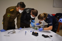 First responders trained on collecting battlefield evidence
