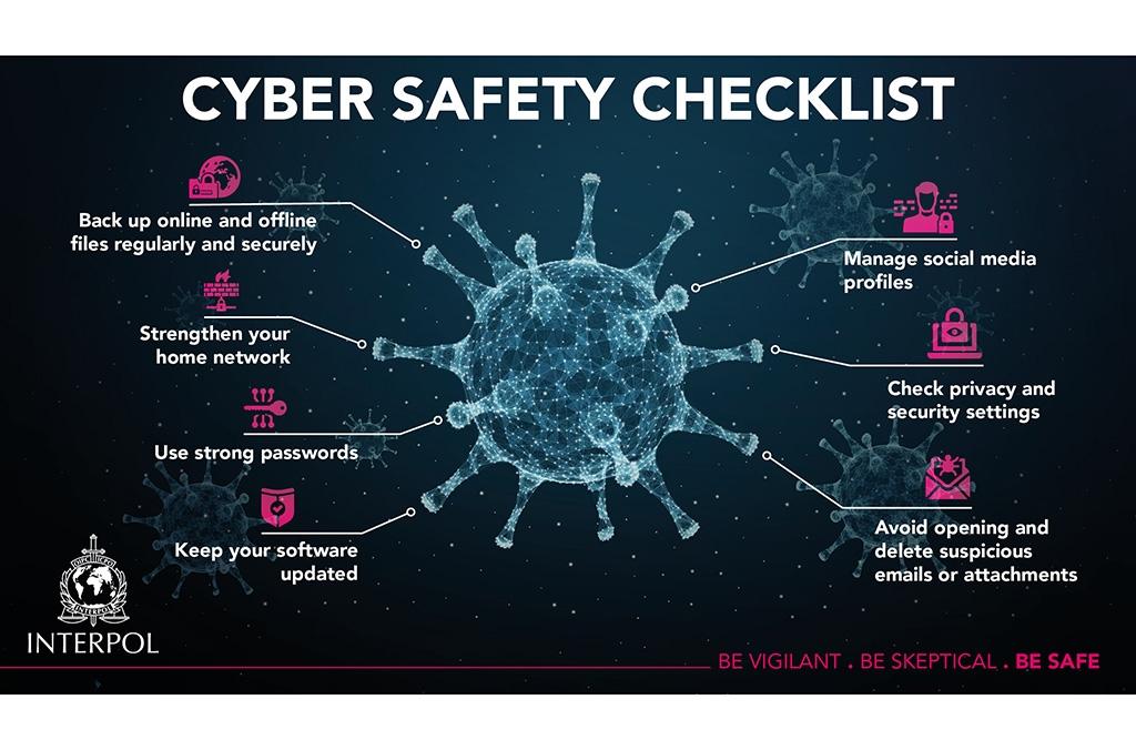 Interpol COVID-19 cyber threats digital security