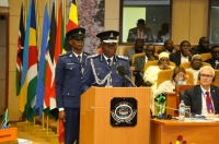 Inspector General of Tanzania Police and incoming EAPCCO Chairman Simon Sirro welcomed delegates to the General Assembly.