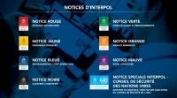 Le système des notices de différentes couleurs d'INTERPOL