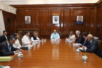 During his mission to India, Secretary General Stock met with Home Affairs Minister Amit Shah.