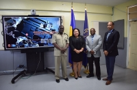 The training included presentations on the firearms toolkits of CARICOM IMPACS and the Organisation of American States (OAS).
