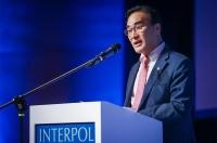 El Presidente de INTERPOL, Kim Jong Yang, afirmó que la región europea continúa siendo la punta de lanza de la cooperación y la innovación policiales para afrontar los retos mundiales de hoy en día en materia de seguridad.