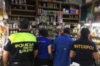 In total, around 4.4 million units of illicit pharmaceuticals were seized (photo: Costa Rica)