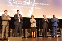 Patricia Bullrich, Argentina's Minister of Security (centre), opened the 7th Global Conference.