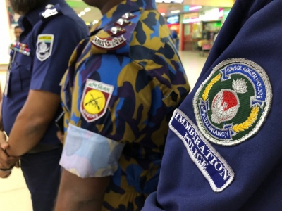 Multi-agency coordination for Operation Mandala with Bangladesh Police, Airport Armed Batallion and Immigration Special Branch