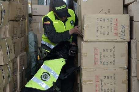 Operations against illicit goods